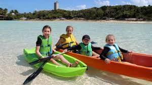 Kayaking on Sweetings Cay Bahamas